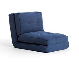 Sillón-puf Odile – azul