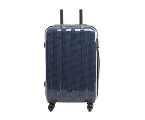 Maleta Trolley formato cabina MONOGRAM - azul