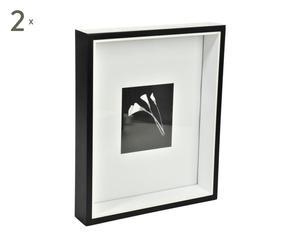 Set de 2 marcos de vidrio
