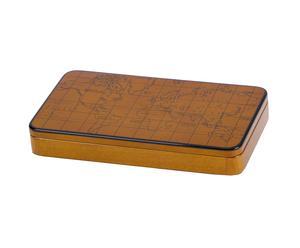 Caja en madera de caoba