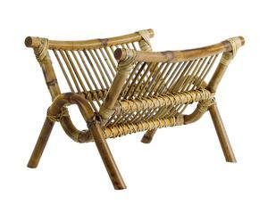Revistero de bambú