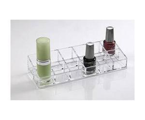 Organizador de acrílico para el esmalte de uñas - Transparente