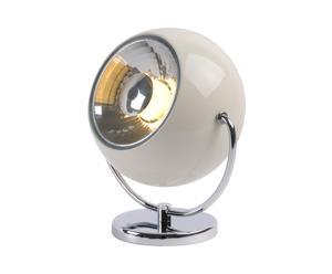 Lámpara de sobremesa de metal Foco - blanco