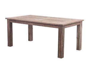 Mesa de comedor en madera de teca