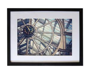 Fotografía enmarcada Reloj Dublín - 62x47
