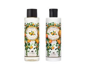 Aceite de masaje y crema corporal Provenza, relajante