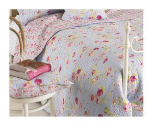 Couvre-lit King size HONEYPOTLANE Coton, bleu - 265*265