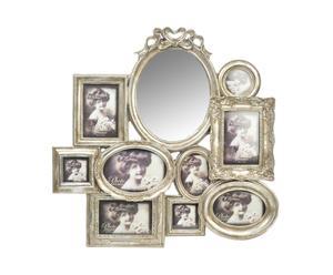 Espejo-marcos, plata - L60
