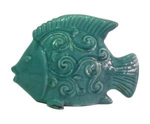 Pez decorativo en cerámica