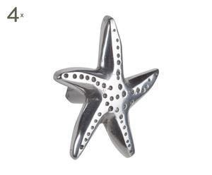 Set de 4 tiradores Estrellas de mar