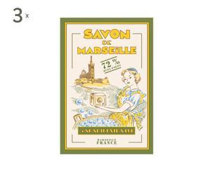 Set de 3 paños de cocina Savon de Marseille