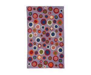 Alfombra Bubble, lila – 120x180