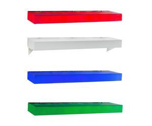 Estante de pared luminoso LED Rack - multicolor