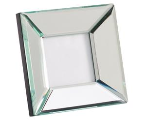 MARCO DE FOTOS en vidrio, PLATA – 13x13