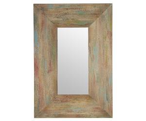 Espejo de madera - natural
