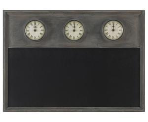 Pizarra de pared con relojes – 74x53
