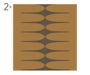 Set de 2 rollos de papel pintado Do the stretch - 10m