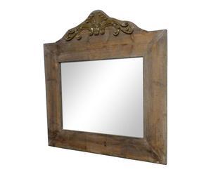Espejo de madera - marrón