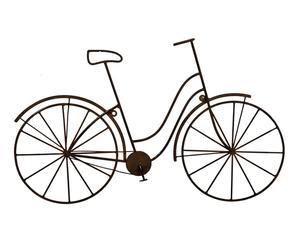 Adorno de pared en metal Bicicleta - óxido