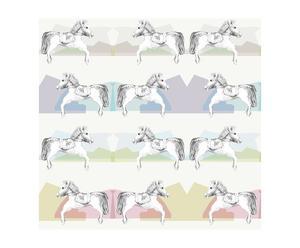Papel pintado Horsey - multicolor