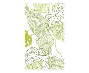 Papel pintado ELSA, verde y blanco - 300x48