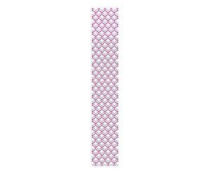 Tira de papel pintado Pam, púrpura y gris – 48x300