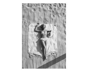 Fotografía decorativa Moda de playa – blanco y negro