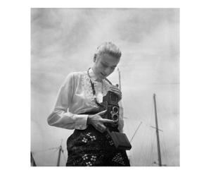 Fotografía decorativa Grace Kelly  – blanco y negro