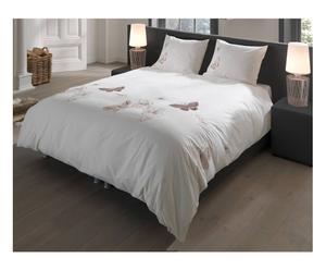 Set de funda nórdica y 2 fundas de almohada en algodón Pat – 240x220
