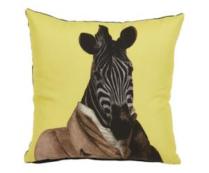 Cojín Zest Cebra, amarillo y negro – 45x45