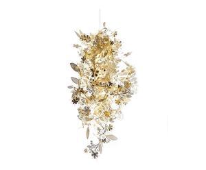 Pantalla de lámpara de techo en acero Garland, dorado - Ø26
