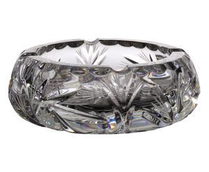 Cenicero de vidrio soplado - transparente