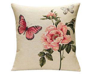 Cojín de algodón Butterfly - 50x50