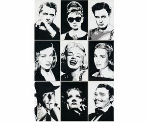 Lámina leyendas de Hollywood– 60x90