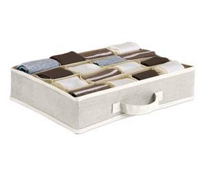 Caja de 16 compartimentos EASYBOX Decor – Gris