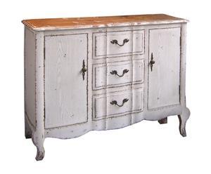 Mueble Vintage White