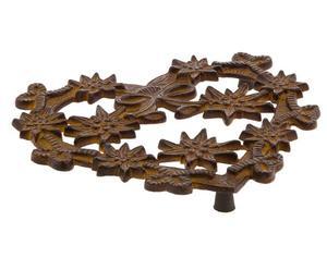 Salvamanteles de hierro Cuore