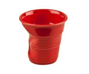 Taza de café de porcelana – rojo