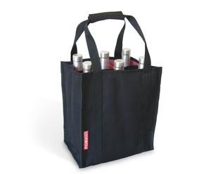 Bolsa con capacidad para 6 botellas – Negro