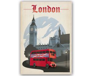Lámina Londres, de Joel Anderson