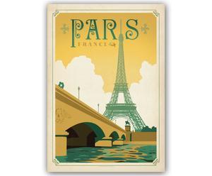 Lámina Paris France, de Joel Anderson