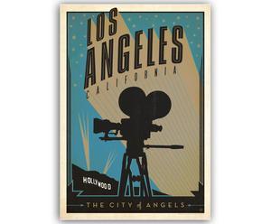 Lámina LA California, de Joel Anderson