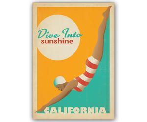Lámina Dive Into Sunshine, de Joel Anderson