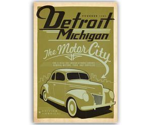 Lámina Detroit, de Joel Anderson