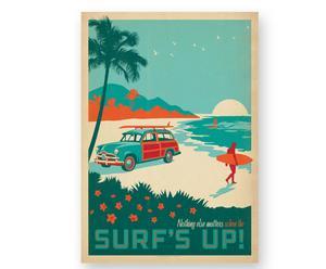 Lámina Surf Up, de Joel Anderson