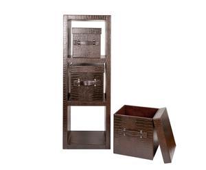 Módulo de estanterías y cajas Croco