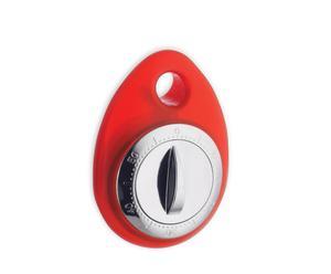 Temporizador de metal y plástico T-Timer – rojo
