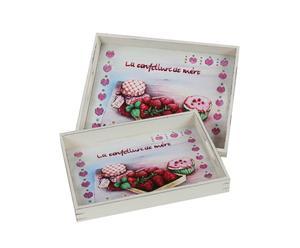 Set de 2 bandejas Confetture