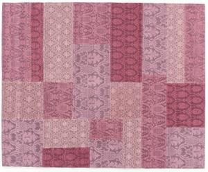 Alfombra Patchwork, lila – 140x200