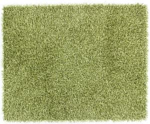 Alfombra Shaggy Tiffany, verde - 160x230